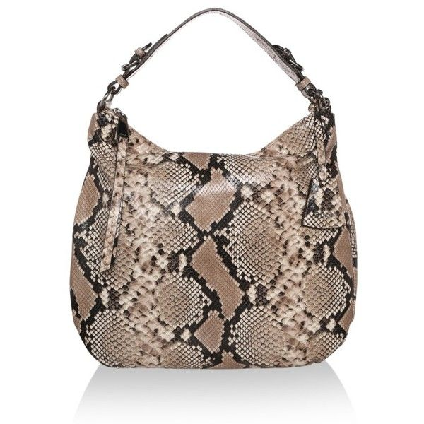 Abro Lux Hobo Bag Skin Beige in gold, beige, Shoulder Bags ($180) ❤ liked on Polyvore featuring bags, handbags, shoulder bags, gold, handbags shoulder bags, gold tote bag, tote handbags, brown shoulder bag and hobo shoulder bags