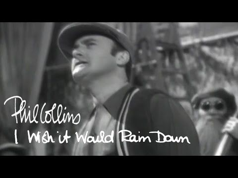 Phil Collins - I Wish It Would Rain Down (Official Music Video)♥   ♥ ✿ Ophelia Ryan✿♥