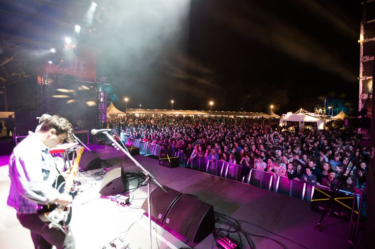 Popular bands and artists take the stage over the 3 days