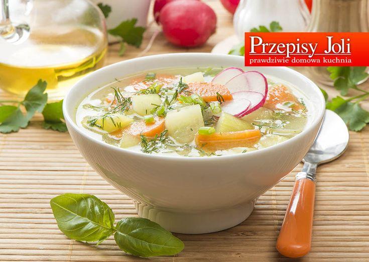 ZDROWA ZUPA WIOSENNA - pyszna i lekka, warzywna zupa.