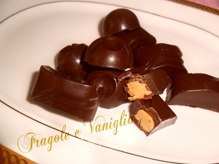 Cioccolatini al burro d'arachidi