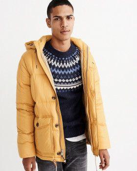 Куртка Abercrombie & Fitch 132-328-1035-800 XL Желтая