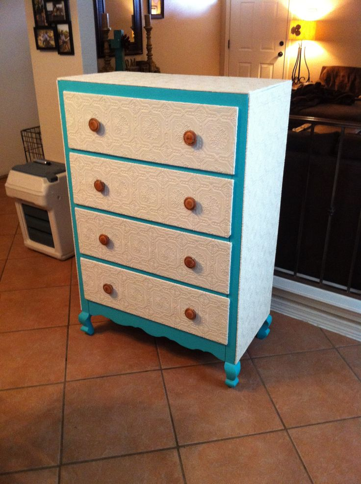 Turquoise and white dresser The 13 best