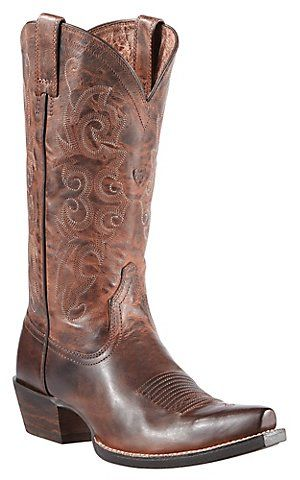 Ariat® Alabama™ Women's Sassy Brown Snip Toe Western Boots | Cavender's