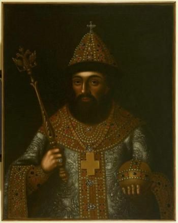 Fedor I by anonim (19th,Vladimiro-Suzdal preserve).Anonymous Russian painter (1670s-1917)