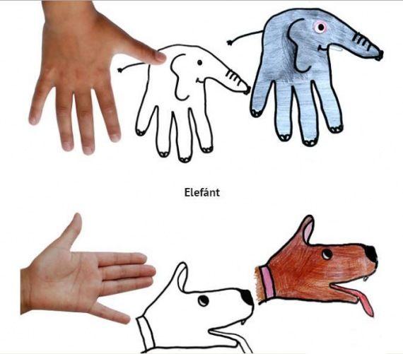 Tanuljunk rajzolni lépésenként és kézlenyomattal! - kossuthsuli.lapunk.hu