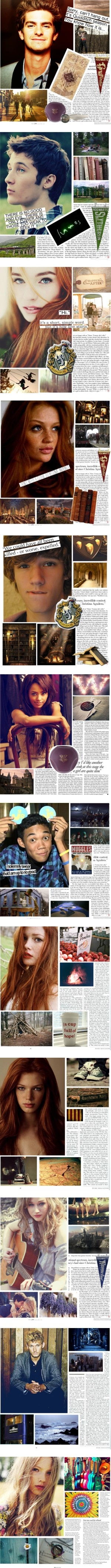 """Harry Potter Next Generation Challenge"" by ninniann ❤ liked on Polyvore 