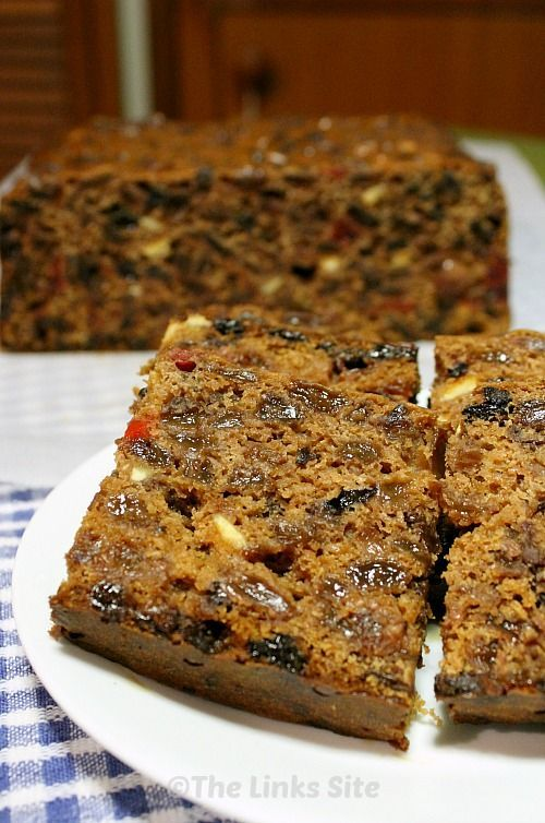 I will definitely be making this fruit cake again because it's delicious and the recipe is so easy!