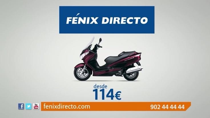 FÉNIX DIRECTO Seguros de Moto con Asistencia en Viaje desde 114 Euros.  https://www.fenixdirecto.com