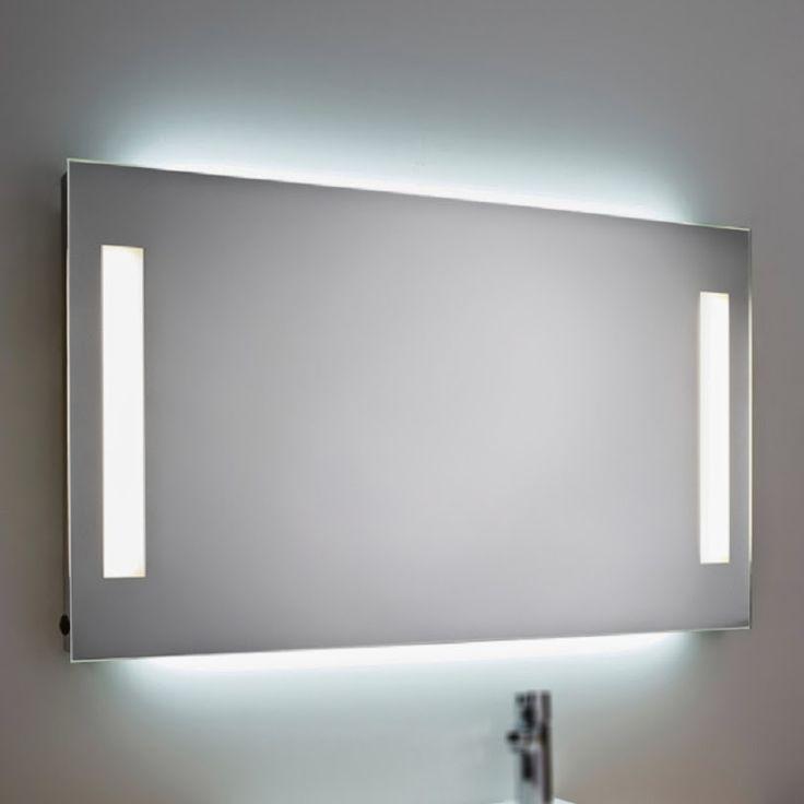 Precio espejo ba o luz iluminacion frontal ambiente for Iluminacion bano ikea