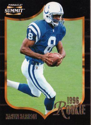 marvin harrison football card | ... Marvin Harrison #174 ROOKIE Pinnacle Summit 1996 American Football
