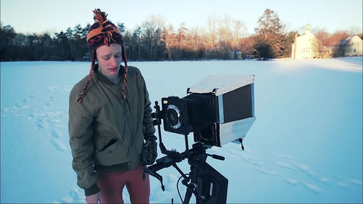 This video was shot on a DIY 810 large format video camera   This video was shot on a DIY 810 large format video camera  January 2 2018 by Dunja Djudjic Leave a Comment   Weve seen a few remarkable experiments with large format cameras. But young photographer Zev Hoover added something new to it: motion. He made a working 810 large format digital video camera most likely the first of its kind. He shares a video he shot on this unusual camera but also talks a bit about how he made it.  Zevs…