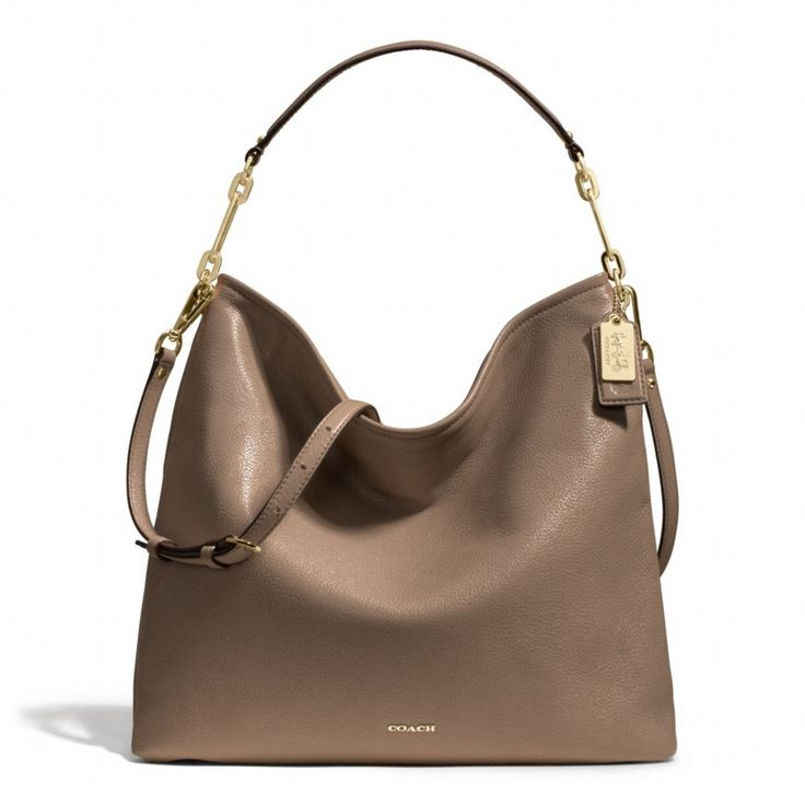 The Madison Hobo In Leather from Coach. Love this bag