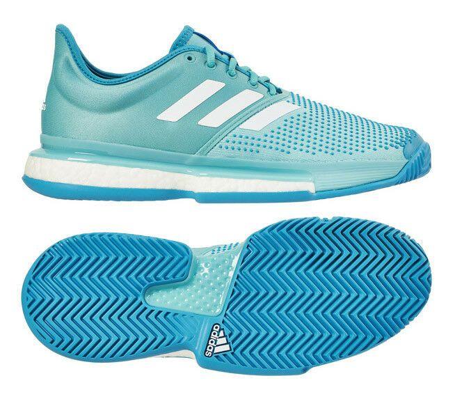 Adidas Sole Court Boost Parley Men S Tennis Shoes Blue Racket Au Open Cg6339 Adidas Tennisshoes Mens Tennis Shoes Tennis Shoes Platform Tennis Shoes