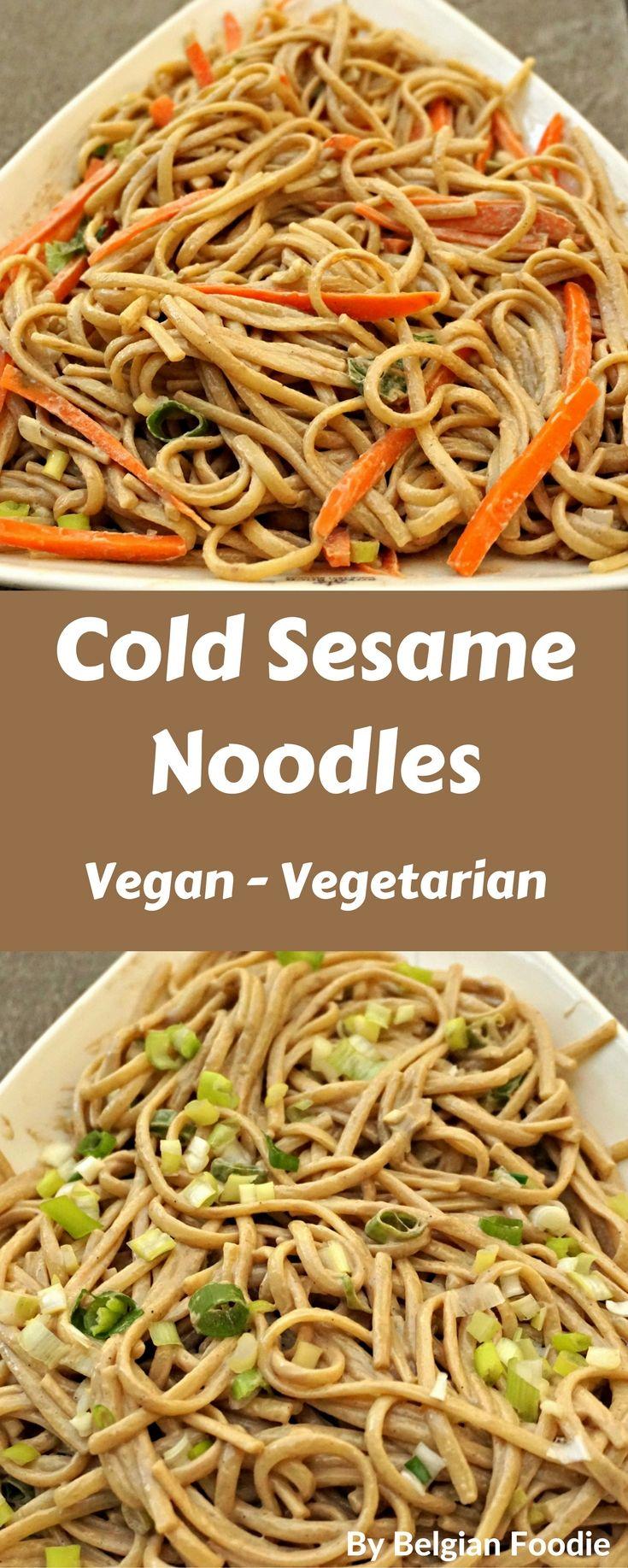 Best 25+ Cold Sesame Noodles ideas on Pinterest | Sesame ...
