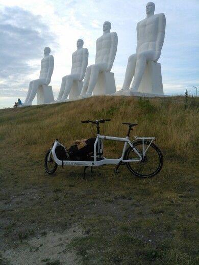 Bullitt milk plus cargo bike in Esbjerg Denmark