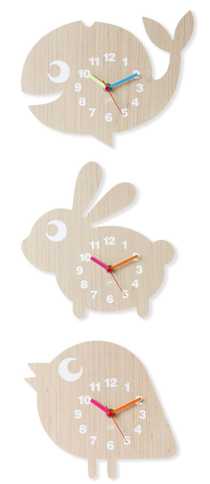 FUN ANIMAL WOODEN WALL CLOCK