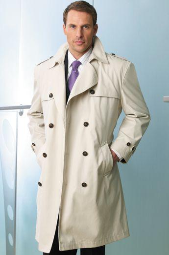 Mens Dress Trench Coat - Sm Coats
