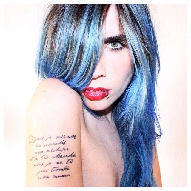 Rockabilly Blue with Pastel-izer