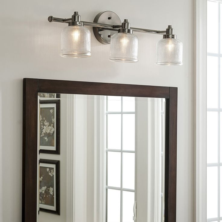 12 best upstairs bath lighting images on pinterest bath for Jack and jill bathroom vanity