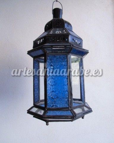 Lampara de cristal grande artesan a rabe y decoraci n - Artesania y decoracion ...
