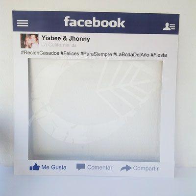 Marco de Facebook #Photobooth