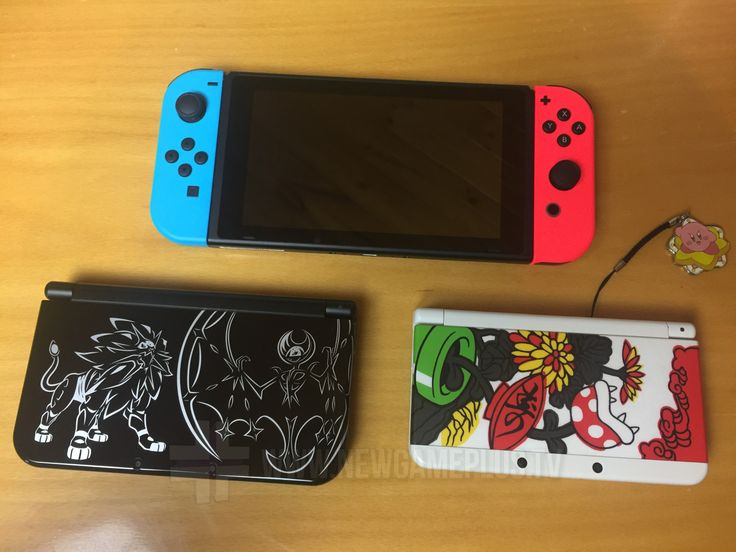 Nintendo Switch questions answered - size of a Switch compared to 3DS and 3DS XL.