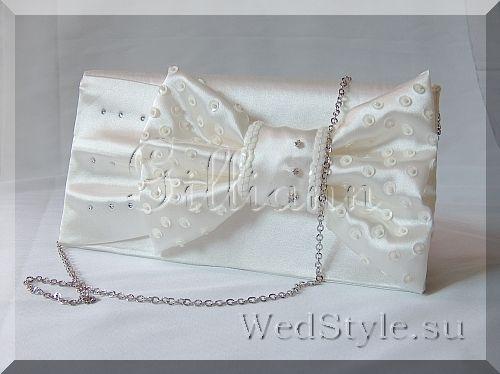 Свадебная сумочка клатч для невесты Gilliann Шик BAG241 #weddingbag #weddingclutch