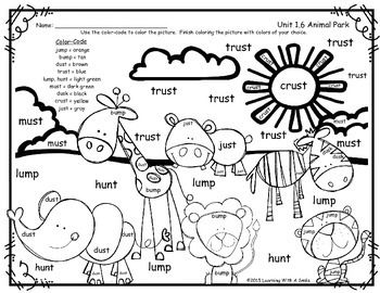 Reading Street Common Core Supplement - FREEBIE - Spelling Color By Word: Animal Park, Unit 1.6 - First GradeI'd like to share this free color-by-word printable for the first grade Reading Street story Animal Park with you.  I hope your class enjoys it!Thanks!Learning With A Smile______________Keywords: Reading Street Common Core Supplement, Freebie, Independent Work, Word Work, RTI, Fast Finishers, Spelling, Animal Park