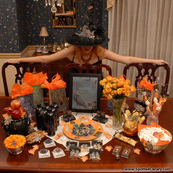 23 best Halloween Party Ideas images on Pinterest Halloween - halloween gift bag ideas