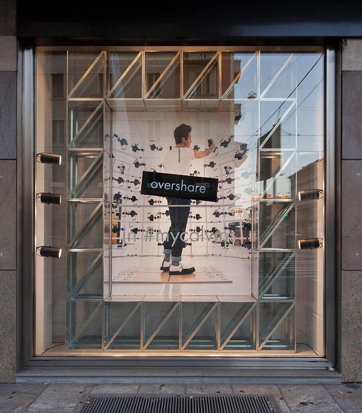 "CALVIN KLEIN, Corso Buenos Aires, Milan, Italy, ""Cameron Dallas... in my Calvins"", creative by StudioXAG, pinned by Ton van der Veer"