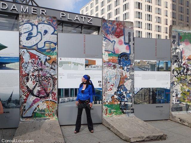 Carou LLou in Berlin Germany - Belin wall > http://CarouLLou.com/berlin-photos