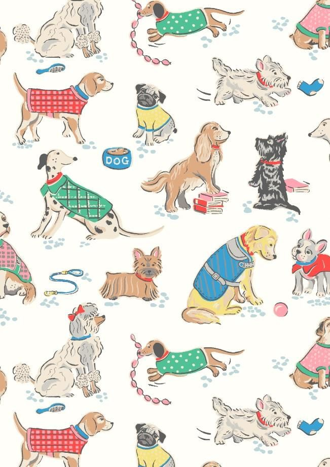 There's a four-legged friend for everyone in our latest playful pup print – we've hand-drawn some of the UK's most popular breeds