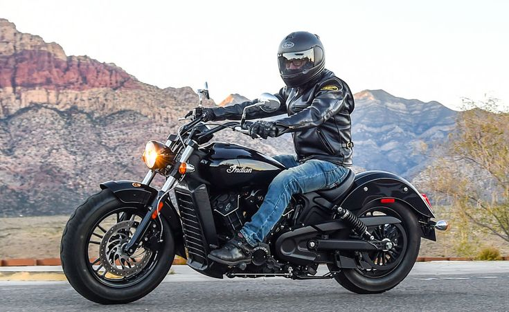 A simple sleeving down of the Indian Scout's excellent liquid-cooled 60-degree V-Twin to 999cc while dropping the sixth gear gives us the new Scout Sixty.