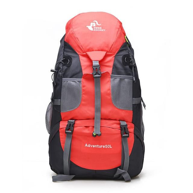 287e269f5d46 Knight Backpack 50L Camping Hiking Bag Waterproof Mountaineering ...