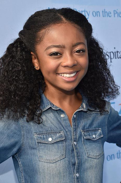 Davina Jamerson. 12 and just starting out here at Lone Pine. BIP {FC: Skai Jackson}