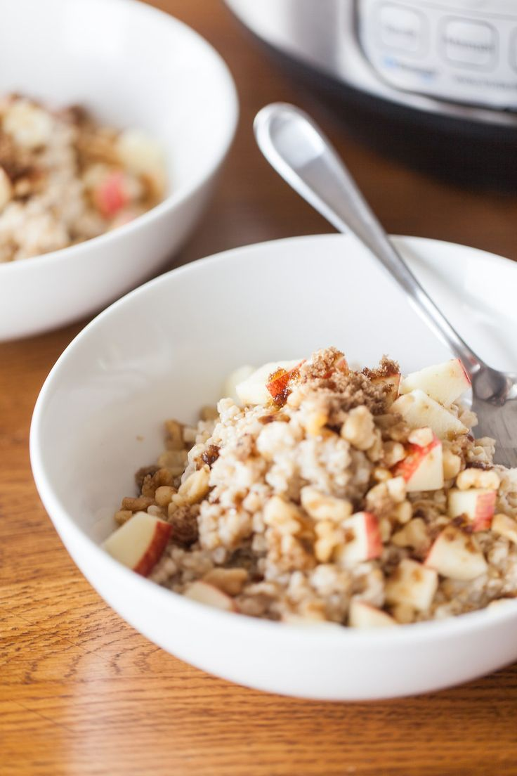 Try as I might, the texture of overnight steel-cut oats never appealed to me. The pressure-cooker version, however, is right up my alley. Since I like my steel-cut oats soft and creamy, I've started making them in the pressure cooker. I get the texture I love with a cooking time that fits my schedule.