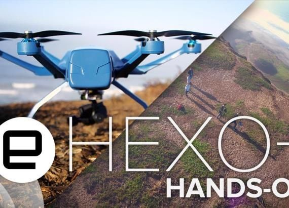 The Hexo drone is your flying selfie companion