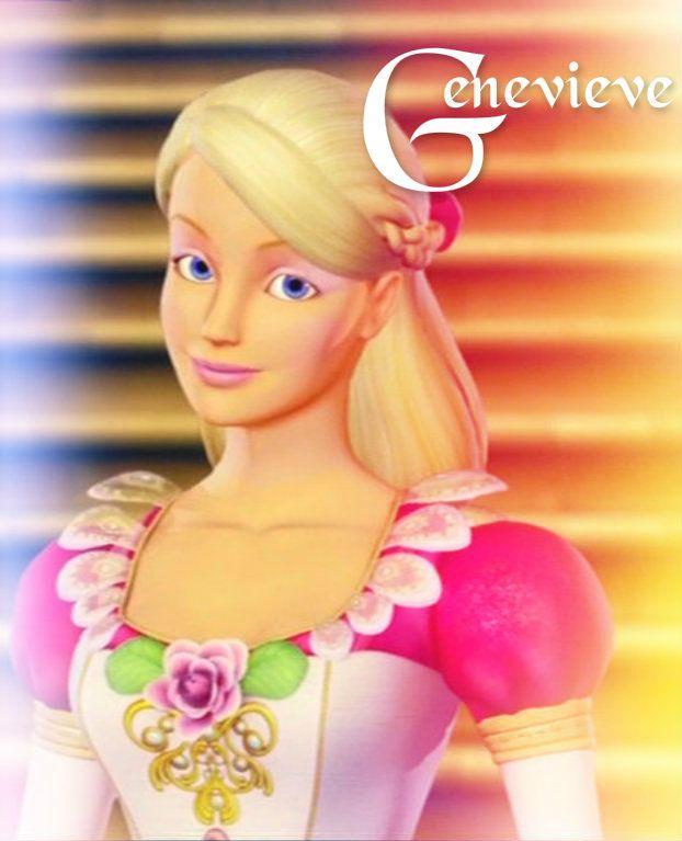 Barbie 12 dancing princesses genevieve barbie - Barbie 12 princesse ...