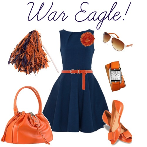 WARDROBE DRESS Auburn Game Day ~ War Eagle!