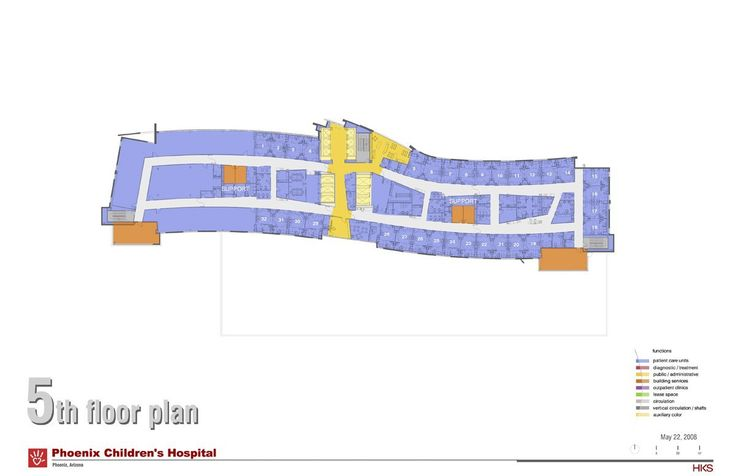 Gallery of Phoenix Children's Hospital / HKS Architects - 7
