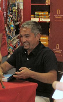 Cesar Millan -Cesar Millan(1969) is a Mexican-born American dog trainer.A self-taught expert he is widely known for his television series The Dog Whisperer now in its ninth and final season and is broadcast in more than eighty countries worldwide. Prior to  series Millan focused on rehabilitating especially aggressive dogs and founded the Dog Psychology Center[5] in South Los Angeles (2002–2008) — under construction in a new Los Angeles location as of late 2009.