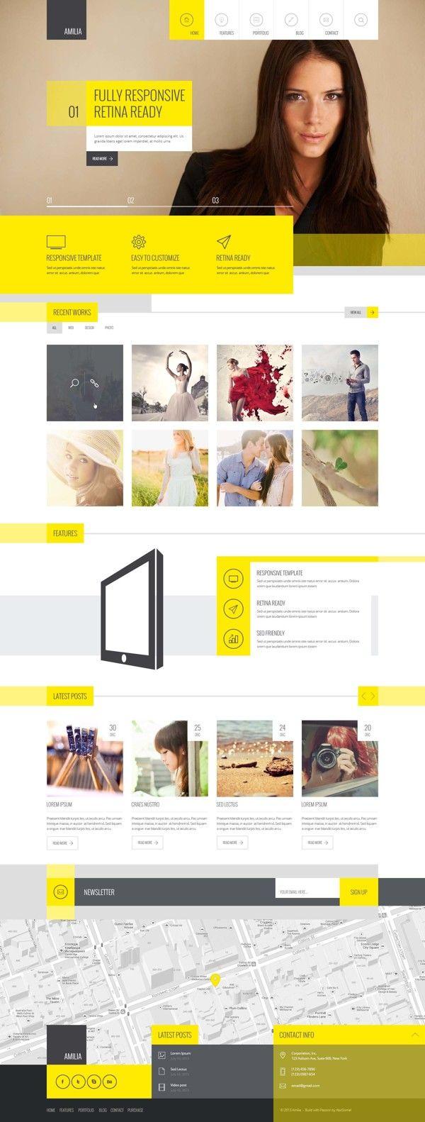 #responsive #design #webdesign #inspiration