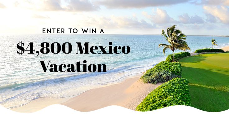 #Win a $4,600 trip for 2 to #RivieraMaya, #Mexico includes a 4-night stay at the Fairmont Mayakoba & other #prizes #travel #sweepstakes #giveaway #contest #sweeps #vacation #vacay