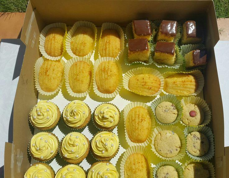 A Boxful of delicious treats