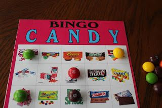 Candy Bingo Game Printable: Candy Games For Teens, Candy Bar, Party Ideas, Family Fun, Birthday Party