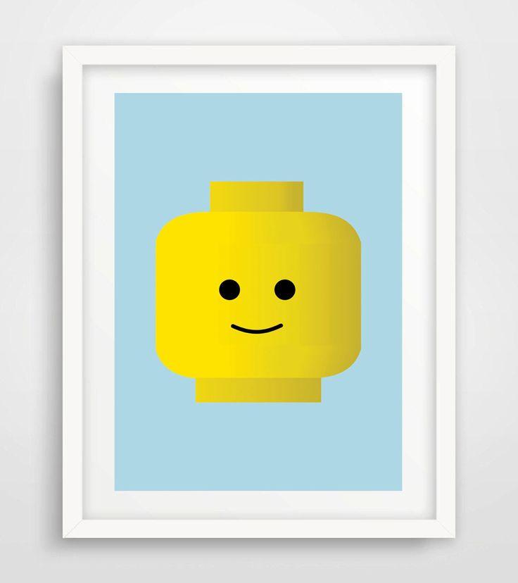 1000 Ideas About Lego Head On Pinterest Lego Birthday