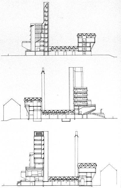 escola de engenharia da universidade de leicester_1959-63_james stirling