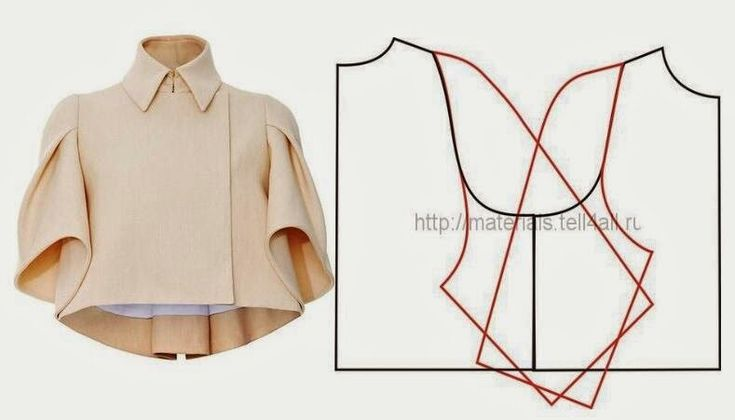 Рукав couture fashion crop bolero spring jacket pattern to make vintage chic folk style 20's inspired