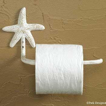 Portarrollos de papel higiénico muy originales para decorar el cuarto de baño.